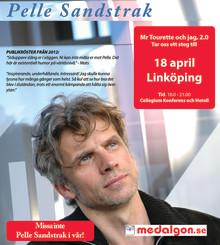 Pelle Sandstrak föreläser i Linköping 18 april