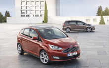 Ford esittelee täysin uuden S-MAXin, uuden C-MAXin ja Grand C-MAXin Pariisin Autonäyttelyssä