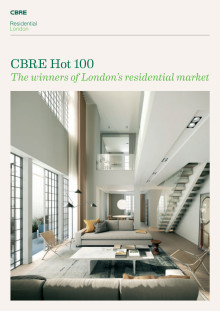 CBRE Hot 100 - The winners of London's residential market