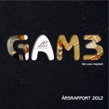 GAM3 Årsrapport 2012