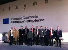Svenska Jägareförbundet diskuterar vargfrågan i Bryssel.
