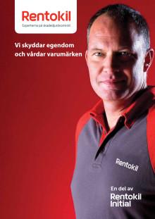 Rentokil Skadedjurskontoll nya broschyr