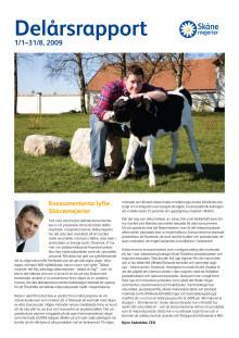 Skånemejeriers Delårsrapport 2009
