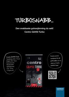 Turbosnabb - Centro GA#50 Turbo - en revolutionerande golvavjämning!