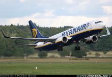 Premiär på Stockholm-Västerås flygplats för Ryanairs nya linjer till Kanarieöarna