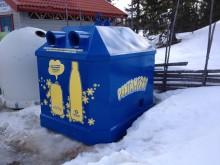 Pantrekord hos svenska skidanläggningar  - ett fåtal burkar och flaskor kommer upp i tö