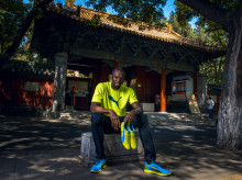 USAIN BOLT RETURNS TO BEIJING IN CONFIDENT MOOD