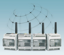 Monitoring sensors via the mobile phone network