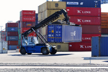 Cargo traffic in the Port of Helsinki increased