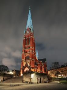 S:t Johannes kyrka en av finalisterna till Svenska Ljuspriset