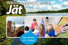 Pressinbjudan: Direktmöte i Jät