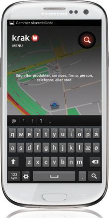 Krak bliver mere lokal og social på Android