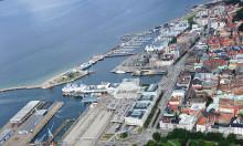 Arkitekter visar förslag på Ångfärjetomten i Helsingborg