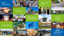 Now Växjö – The Greenest City in Europe, puts the pressure on Europe concerning the issue of climate change