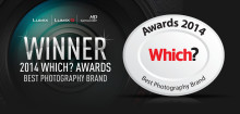 Panasonic wins 'Best Photography Brand' at the Which? Awards 2014