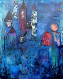 Vernissage av drömlik konstutställning