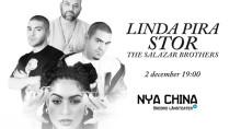 Redline Recordings ft STOR, Linda Pira & The Salazar Brothers håller klubbspelning på Nya China