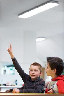 Ny innovativ belysning forbedrer indlæringsmiljøet på danske skoler