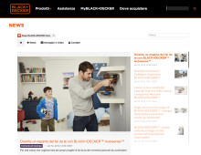 BLACK+DECKER™ launches brand newsrooms across 16 markets to power digital communications