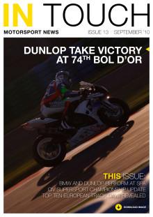 Dunlop Motorsport nyhetsbrev InTouch