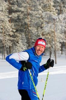 Premiär för första Vasaloppslägret med Mattias Svahn för säsongen i svenska fjällen