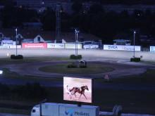 Banbelysningen på Solvalla kan vinna Svenska Ljuspriset
