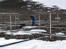 Svenska atmosfärforskare på expedition till Antarktis