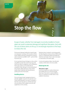 Property & Casualty News - Stop The Water Flow Part 4