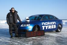 331,6 km/h nytt världsrekord på iskörning