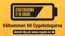 Cygatedagarna - IT in Charge