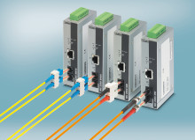 Rapid media converters for Ethernet applications in realtime