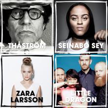 Thåström, Seinabo Sey, Zara Larsson, Little Dragon m.fl. till Malmöfestivalen!