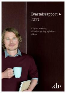 Kvartalsrapport Q4/2013