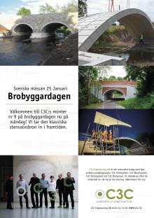 C3C på Brobyggardagen 2016 - Den klassiska stenvalvsbron in i framtiden!