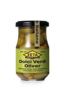 Zeta Delikatessoliver - nu i små, praktiska burkar om 190 gram