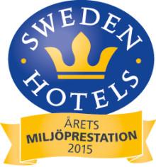 Sweden Hotels Gala 2015 - nomineringar Årets Miljöprestation 2015