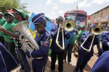 Klimataktivister reser 10 000 kilometer genom Afrika till COP17