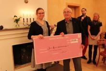 Birgittaprisets pengar 2014 går till Ebolaarbete och läsprojekt i Afrika.