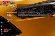 Ford Focus ST online press kit