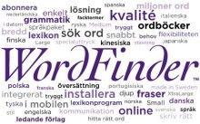 WordFinder deltar på tre evenemang i april!