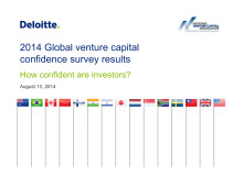 Global Venture Capital Confidence 2014