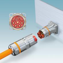 Ny M23 hybrid kontakt för signal-, data- och kraftöverföring