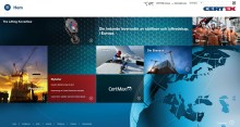 Certex presenterar ny hemsida