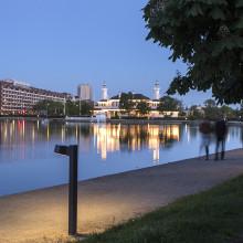 Belysning i centrala Köpenhamn