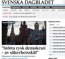 Östgruppen: Främja svensk säkerhet genom ökat demokratistöd till Ryssland
