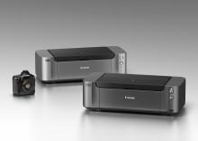 Canon oppdaterer PIXMA Pro-serien med to A3+ fotoskrivere med profesjonell kvalitet