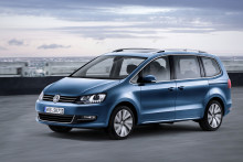 Volkswagen Sharan får uppdaterade motorer och nya förarassistanssystem