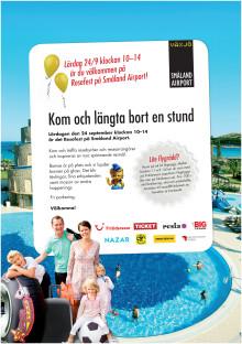 Resefest på Småland Airport 24 september klockan 10-14.