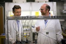 Stark medvind för Stenas och Chalmers återvinningsforskning