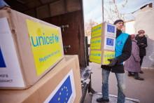 62 ton livräddande förnödenheter till Donetsk